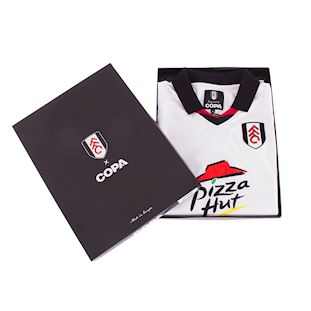 Fulham FC 2001 - 02 Retro Football Shirt   6   COPA