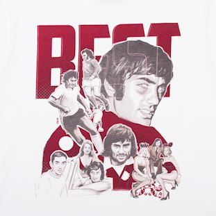 George Best Collage T-Shirt | 2 | COPA