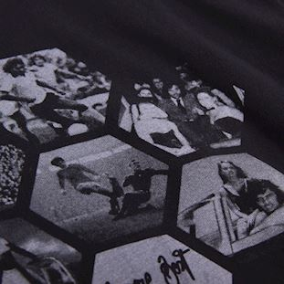 george-best-hexagon-t-shirt-black | 3 | COPA