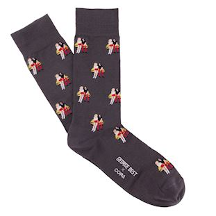 George Best Lotus Casual Socks | 1 | COPA