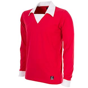 George Best Man. Utd. 1970´s Retro Football Shirt | 1 | COPA