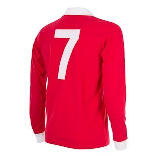 George Best Man. Utd. 1970´s Retro Football Shirt | 4 | COPA