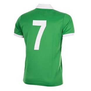 George Best Northern Ireland 1977 Retro Football Shirt | 4 | COPA