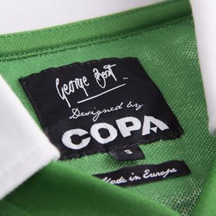 George Best Northern Ireland 1977 Retro Football Shirt | 6 | COPA