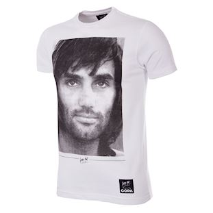 George Best Portrait T-Shirt | 1 | COPA