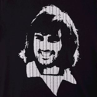 george-best-repeat-logo-t-shirt-black | 2 | COPA