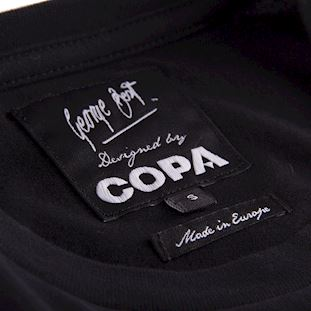 george-best-repeat-logo-t-shirt-black | 5 | COPA
