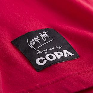 george-best-repeat-logo-t-shirt-red | 4 | COPA