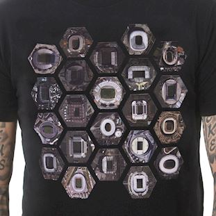 6749 | Hexagon Stadium T-Shirt | Black | 2 | COPA