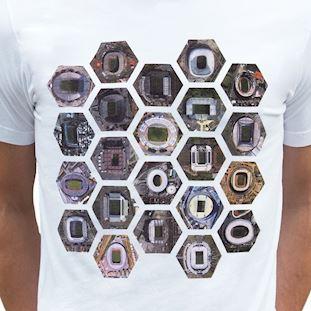 6750 | Hexagon Stadium T-Shirt | White | 2 | COPA