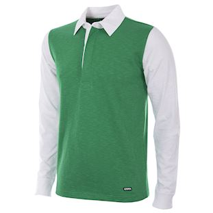 252 | Hibernian FC 1951 - 52 Long Sleeve Retro Football Shirt | 1 | COPA