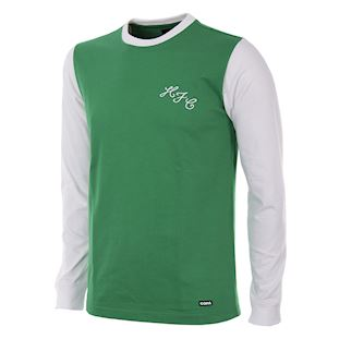 253 | Hibernian FC 1972 Cup Final Long Sleeve Retro Football Shirt | 1 | COPA