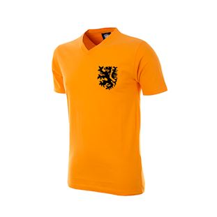 holland-v-neck-kids-t-shirt-orange | 1 | COPA