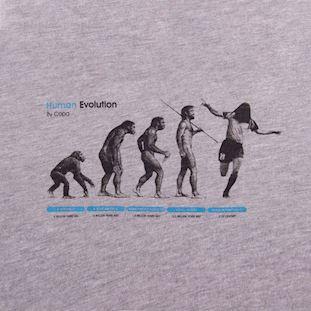 Human Evolution T-Shirt | 2 | COPA