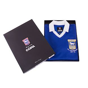 Ipswich Town FC 1977 - 78 Retro Football Shirt | 6 | COPA