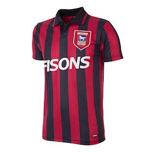 Ipswich Town FC 1991 - 92 Retro Football Shirt | 1 | COPA