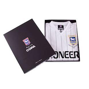 Ipswich Town FC Away 1981 - 82 Retro Football Shirt | 6 | COPA