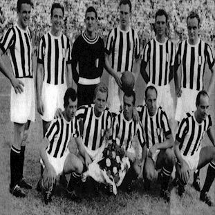Juventus FC 1952 - 53 Retro Football Shirt | 2 | COPA