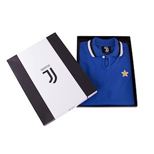 Juventus FC 1976 - 77 Away Coppa UEFA Retro Football Shirt | 6 | COPA