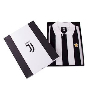 juventus-fc-1976-77-coppa-uefa-short-sleeve-retro-shirt-blackwhite | 6 | COPA