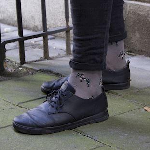 kung-fu-socks-grey | 5 | COPA