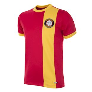 243 | Melchester Rovers 1980's Short Sleeve Retro Football Shirt | 1 | COPA