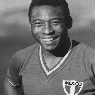 545 | Mexico Pelé 1980's Short Sleeve Retro Football Shirt | 2 | COPA