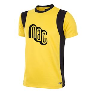 nac-breda-1981-82-short-sleeve-retro-football-shirt-yellow | 1 | COPA