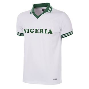 238 | Nigeria 1980 Short Sleeve Retro Football Shirt | 1 | COPA