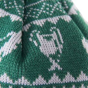 nordic-knit-beanie-green-white-green | 3 | COPA