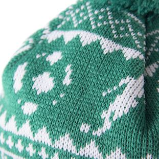 nordic-knit-beanie-green-white-green | 4 | COPA