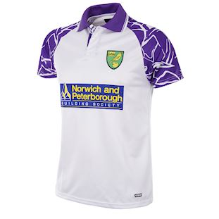 158 | Norwich FC 1992 - 94 Away Short Sleeve Retro Football Shirt | 1 | COPA