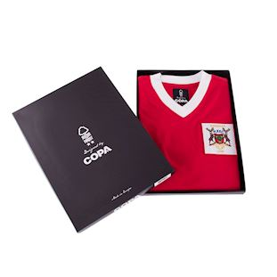 Nottingham Forest 1959 Cup Final Retro Football Shirt | 6 | COPA