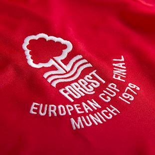 Nottingham Forest 1979 European Cup Final Retro Football Shirt | 3 | COPA