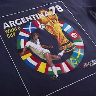panini-x-copa-world-cup-1978-t-shirt-marineblue | 2 | COPA
