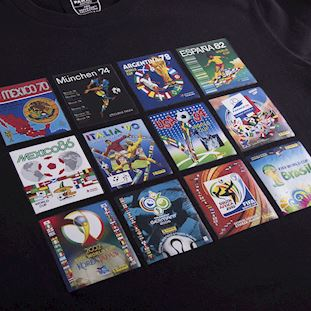 1538 | Panini Heritage Fifa World Cup Collage T-shirt | 2 | COPA