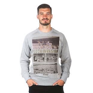 6453 | Pitch Invasion Sweater | Grey Melee | 1 | COPA