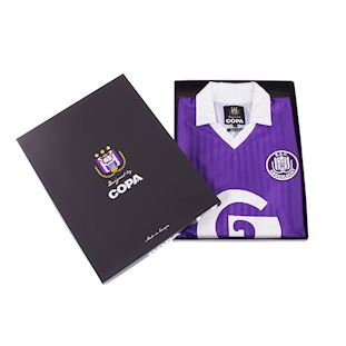 RSC Anderlecht 1990 - 91 Retro Football Shirt | 7 | COPA