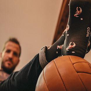 rafael-van-der-vaart-x-copa-socks-grey | 7 | COPA