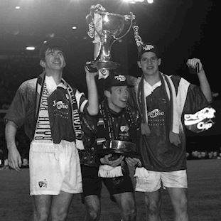 Raith Rovers FC 1994-95 Retro Football Shirt | 2 | COPA