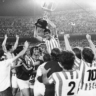 Real Betis 1976 - 77 Retro Football Shirt   2   COPA