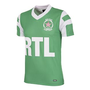 Red Star F.C. 1991 - 92 Retro Voetbal Shirt | 1 | COPA