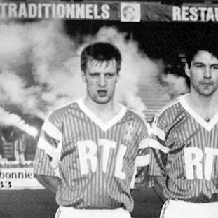 Red Star F.C. 1991 - 92 Retro Football Shirt | 2 | COPA