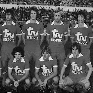 762 | Royal Antwerp FC 1980's Short Sleeve Retro Football Shirt | 2 | COPA