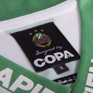 SK Rapid Wien 1988 - 89 Retro Football Shirt | 7 | COPA