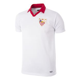 Sevilla FC 1980 - 81 Retro Football Shirt | 1 | COPA