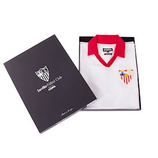 Sevilla FC 1980 - 81 Retro Football Shirt | 6 | COPA