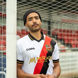 Sheffield FC Away Football Shirt | 8 | COPA