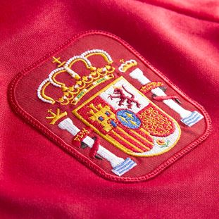 spain-1988-short-sleeve-retro-football-shirt-red | 3 | COPA