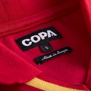 spain-1988-short-sleeve-retro-football-shirt-red | 5 | COPA